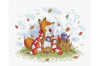 "Cross-stitch kit MP STUDIA SM-388 ""Autumn Stillife"""