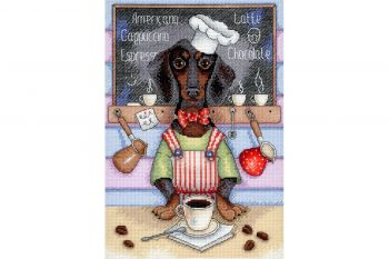 "Cross-stitch kit MP STUDIA SM-183  ""Bear """