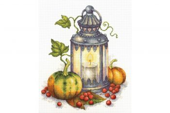 "Cross-stitch kit MP STUDIA SNV-549 ""Frumusețe de toamnă"""