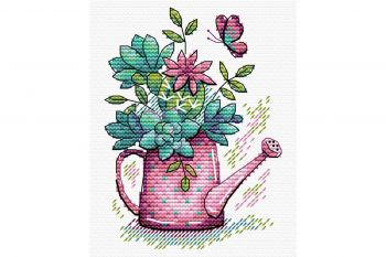 "Cross-stitch kit MP STUDIA SNV-628 ""Dimineața de toamnă"""