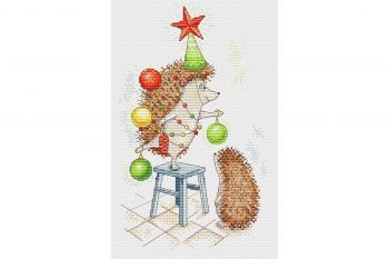 "Cross-stitch kit MP STUDIA SM-284  ""Flori frumoase"""