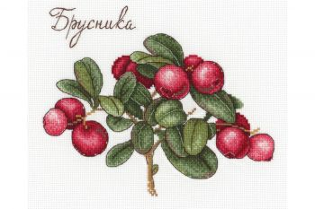 "Cross-stitch kit MP STUDIA SNV-562 ""Fructe de padure"""