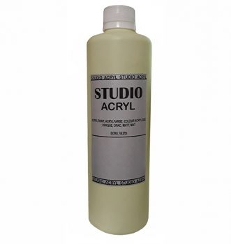 Acrilic paint STUDIO ACRYL 500 ml. Dark Green