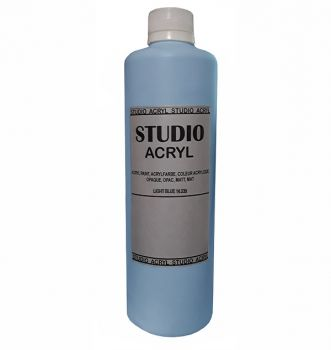Acrilic paint STUDIO ACRYL 500 ml.  white
