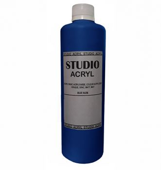 Acrilic paint STUDIO ACRYL 500 ml. Light Blue