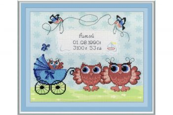 "Cross-stitch kit MP STUDIA SRK-510  ""cusut Fairy"""