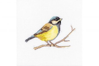 Cross-stitch kit Luca-S B1106 Cu un pisoi