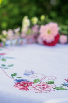 Vervaco table-cloth PN-0145973 Roses