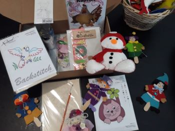 "Scrapbooking kit ""Christmas toys"""