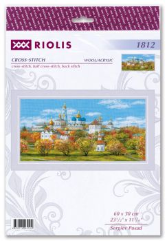 Cross-stitch kit Riolis 1884 Starry Night Over the Rhone after Van Gogh's Painting