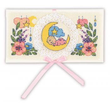Cross-stitch kit Happy Wedding Day - Riolis, 1024