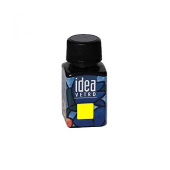 Idea Vetro glass paint Yellow