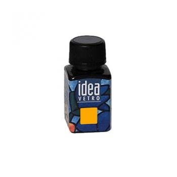 Idea Vetro glass paint Dark Yellow