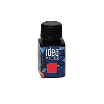 Idea Vetro glass paint Light Red