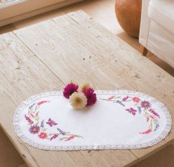Vervaco PN-0012838 Flower table-cloth