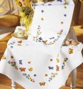 Vervaco PN-0013180 Square with wild flowers