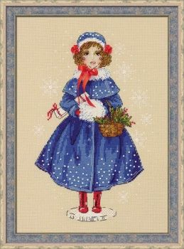 Cross-stitch kit Riolis 1312 Doll Marie