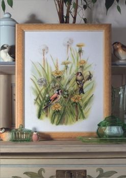 Cross-stitch kit Orchidea 8148 Sparrows