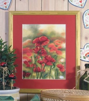 Cross-stitch kit Orchidea 8160 Poppy