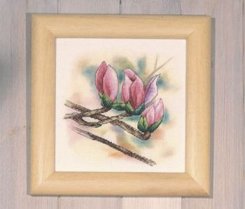 Cross-stitch kit Orchidea 8183 Magnolia bloom