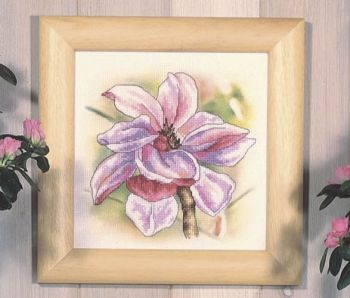 Cross-stitch kit Orchidea 8185 Blooming Magnolia
