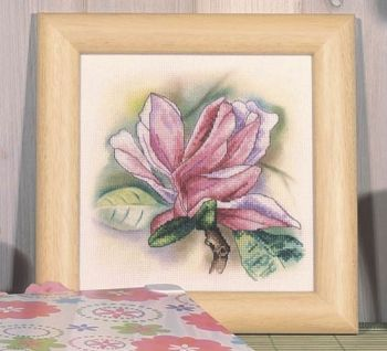 Cross-stitch kit Orchidea 8184 Magnolia flowers