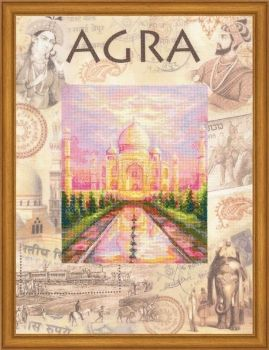 Cross-stitch kit Riolis PT-0020 Cities of the World. Agra