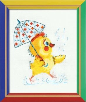 Cross-stitch Riolis HB-130 kit Rain