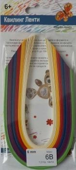 Quilling paper - mix 6B