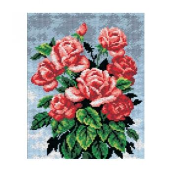Printed embroidery Orchidea 2220 Roses
