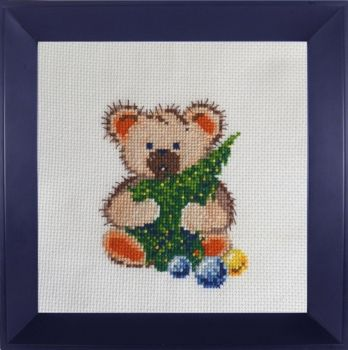 Cross-stitch Bear