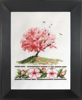 Cross-stitch  Spring
