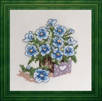 "Cross-stitch  ""Letter for you"""
