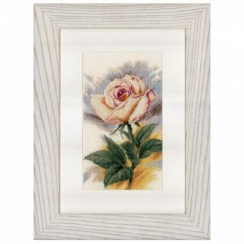 "Cross-stitch ""The chosen one"" - Lanarte PN-0148259, Flowers and gardens"