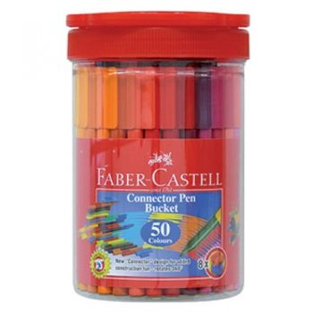 Faber-Castell Connector флумастери 50 цвята
