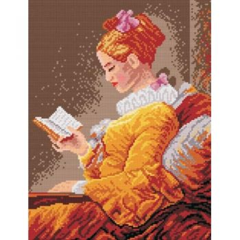 Reading woman - after Fragonard