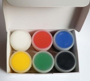 Acrilic paint Decola - 6 colours