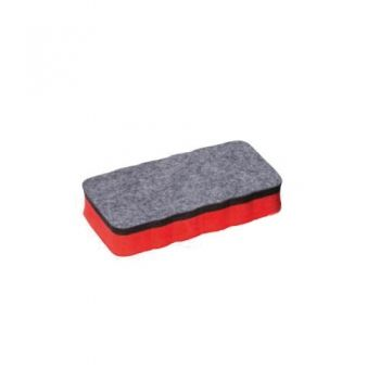 White board magnetic brush - red