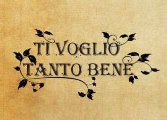 "Rubber stamp ""Ti voglio tanto bene"" IT"